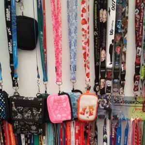 Ribbon Fashion Accessoies Neck Printed Nylon Card Lanyard pictures & photos