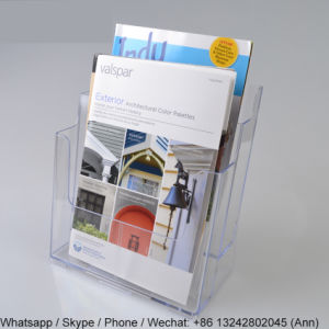 2-Tiered Acrylic Brochure Holder pictures & photos