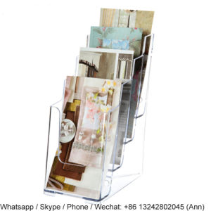 4-Tiered Acrylic Brochure Holder pictures & photos