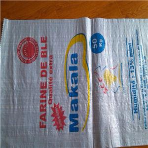 White PP Woven Bag Sack /Polypropylene Woven Bag/PP Woven Sack pictures & photos