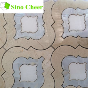 Cheap Beautiful China Made Marble Water Jet Mosaic Design pictures & photos