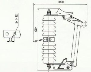 China Prw10-12f/100 Drop-out Fuse with Load - China Fuse, Drop-out Fuse with Load pictures & photos