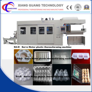 Plastic Fast Food Box Product Type Servo Driver Vacuum Forming Machine pictures & photos