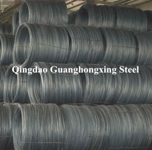 Gbq195, Q215, Q235, SAE1006, 1006b, Hot Rolled, Steel Wire Rod pictures & photos