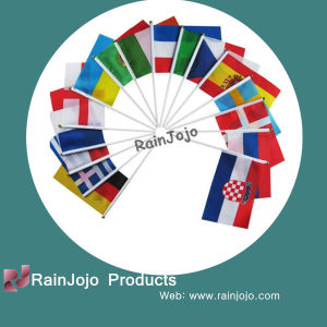 Colorful National Custom Hand Flags, Mini National Flag pictures & photos