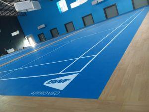 Plastic Vinyl PVC Sports Flooring for Badminton pictures & photos