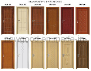Interior PVC HDF/MDF Door Set, PVC Faced HDF/MDF Door Set, Factory Prices Attached pictures & photos