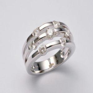 Jewellry Gold Diamond Engagement Ring (2199)