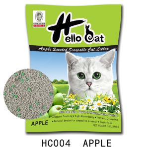 2016 Pet Supply Chemical Bentonite Clumping Cat Litter pictures & photos