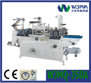 Automatic Flatbed Label Die-Cutting Machine Wjmq-350A