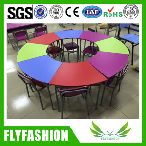 Child Study Table and Chair for Children Furniture (SF-35C2) pictures & photos