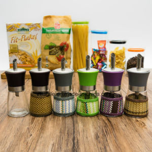 Factory Wholesale Colorful Olive Oil Glass Bottle (100004) pictures & photos