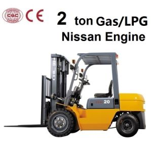 2 Ton Forklift (gasoline or LPG) for Nissan Engine pictures & photos