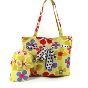 Beach Bag with Cap Handbag Leisure Bag Fashion Bag Travel Bag Ladies Bag Handbag Shoulder Bag Trend Bag Promotional Bag GS022511-1 pictures & photos