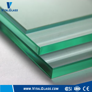 8mm F-Green/Ultra Clear Tempered/Toughened/Laminated/Patterned/Reflective/Building Glass pictures & photos