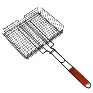 Black BBQ Cooking Basket