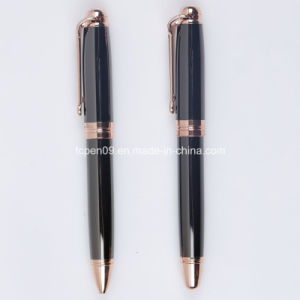 High End Gold and Black Metal Pen
