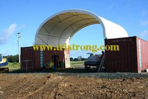 Fireproof Heavy Duty PVC Canopy, Container Tent (TSU-2620C/TSU-2640C) pictures & photos