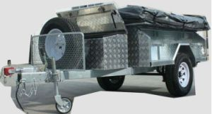 Camping Trailer Side Turnover Style Hlt-07 pictures & photos
