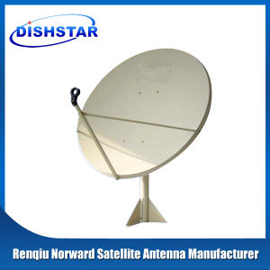 Ku Band 150 Satellite Dish Antenna with Wall Mount Base