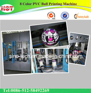 8 Color PVC Ball Printing Machine pictures & photos