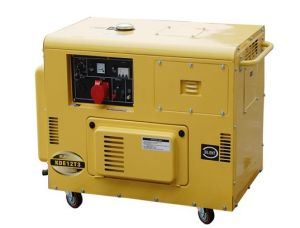 3phase Silent Type Diesel Generator 230-416V 9.5-10.5kVA (KDE12T3) pictures & photos
