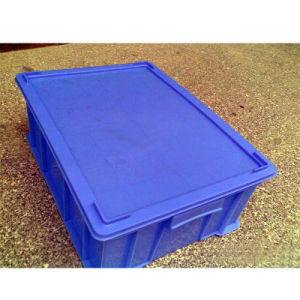 Plastic Turnover Box with Cover pictures & photos