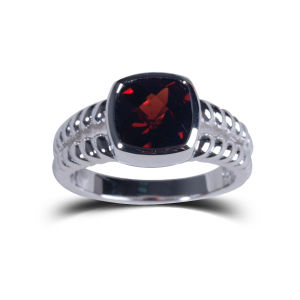 Wedding Commemorative Red Natural Stone Jewelry Rings Fashion