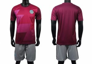 High School Cheap Custom Full Sublimation Soccer Uniforms pictures & photos