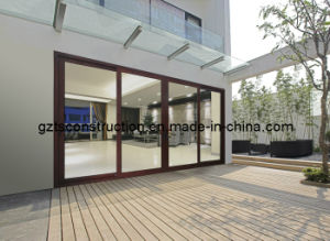 Australian Standard Large Sliding Door with Double Glazing Glass (TS-119) pictures & photos