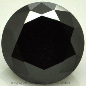 Wholesale Best Russian Industrial Loose Black Synthetic Cubic Zirconia pictures & photos