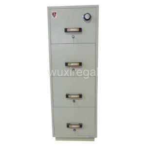 UL Fire Resistant Filing Cabinet, Vertical Metal Cabinet (UL824FRD-II-4014) pictures & photos