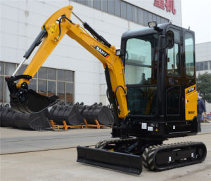 Sany Sy16c 1.6 Ton Hydraulic Earth Mover Mini Excavator pictures & photos