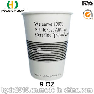 9oz Single Wall Hot Coffee Paper Cup (9 oz-10) pictures & photos