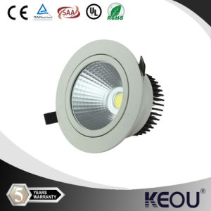 White Finishing COB 15W/18W/20W LED Downlight pictures & photos