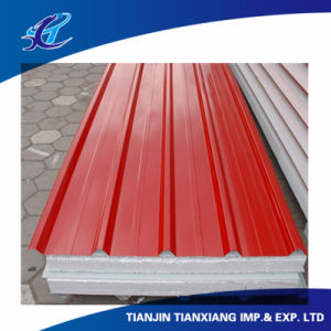 Red Color Coated Galvanized Galvalume Corrugated Roofing pictures & photos