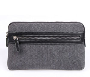 Canvas Men Pouch, Clutch Pouch (M0094) pictures & photos