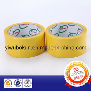 2015 Popular Product-Yellow BOPP Tape in Korean Market pictures & photos