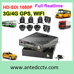 Rugged 1080P 4/8 Channel Mobile Video Surveillance System for Vehicle Bus Truck Car, with WiFi GPS 3G 4G pictures & photos