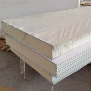 Non Skid Fiberglass PU Foam Sandwich Panel for Prefabricated Building pictures & photos