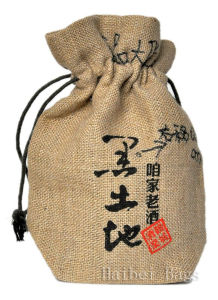 2013 New Natural Recycled Eco-Friendly Jute Wine Bag (hbjw-16) pictures & photos