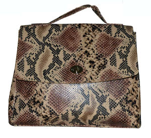 Quality Snake Leather Tote Bags, OEM Designer Handbags pictures & photos