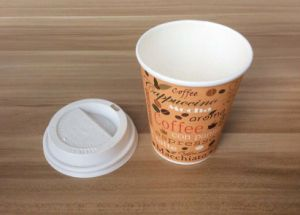 Custom Printed Disposable Paper Coffee Cup Hot Drink 12oz pictures & photos