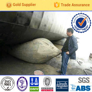 High Pressure Safety Rubber Inflatable Salvage Marine Rubber Airbag