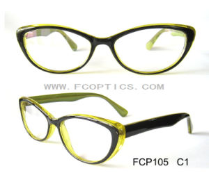 Copy Acetate Material Half Eye Reading Glasses pictures & photos