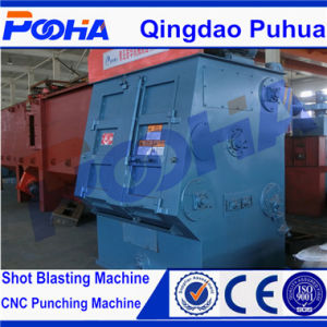 Q326 Tumblast Belt Rubber Small Shot Blasting Machine pictures & photos