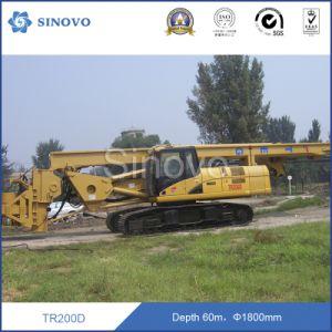 Original Caterpillar TR200D Rotary Drilling Rig pictures & photos