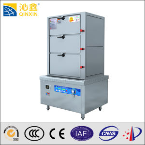 Stainless Steel Seafood Induction Steaming Cabinet pictures & photos