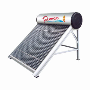 160L Quality-Assured Stainless Steel Solar Energy Water Heater pictures & photos