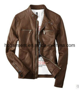 Motorcycle Jacket, Safety Waterproof PU Leather Jacket for Man pictures & photos